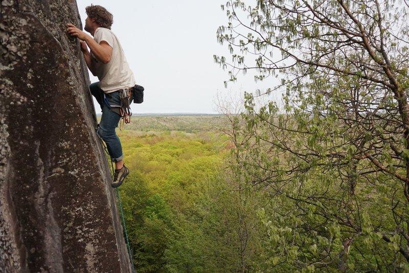 Beautiful climb. Fun movement