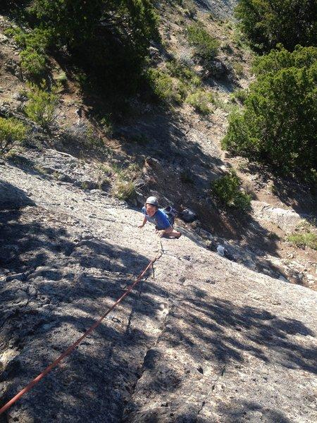 Ritter climbing