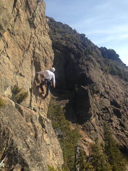 Sizing up the technical crux and risk assesment