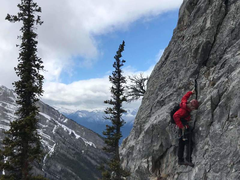 The start of the technical 5.5 pitch