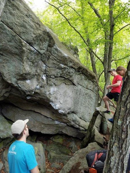 Very cool boulder