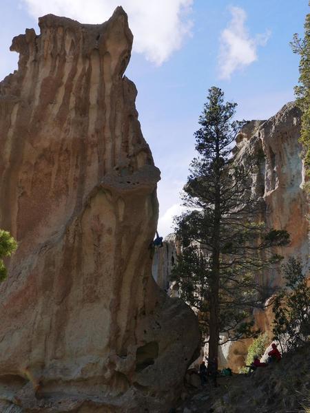 Amazing climb