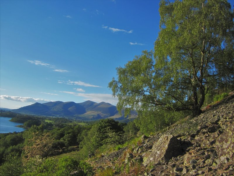 Resting Place … Below Falcon Crags.