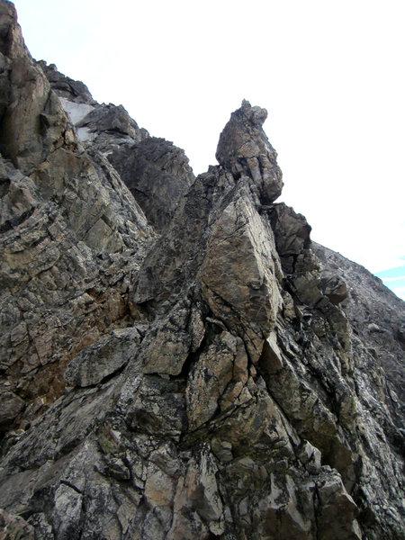 Bonney's Pinnacle seen from atop Pinocchio Pinnacle.