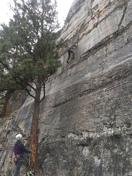 Second ascent of Bulimia!