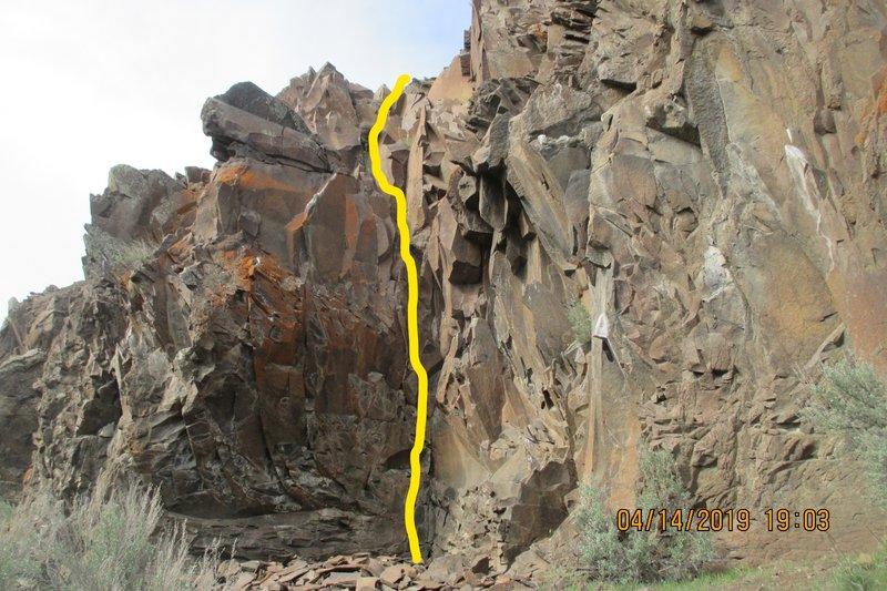 Simba's Fury route