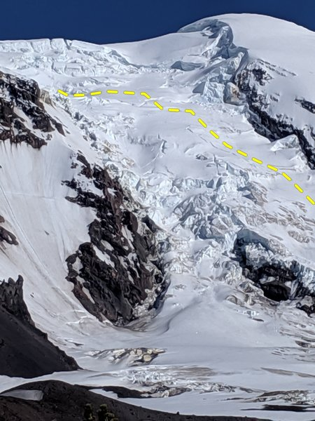 Upper Adams Glacier June 2019 (photo: Erick T.)