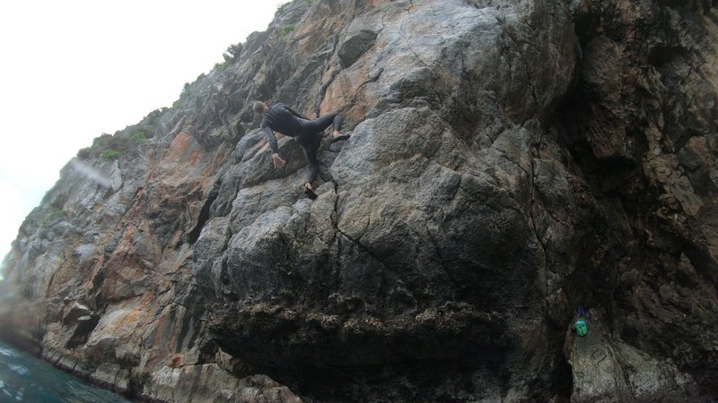 Shaking out before the crux