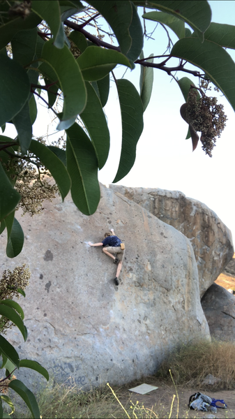 One of the best climbs at santee