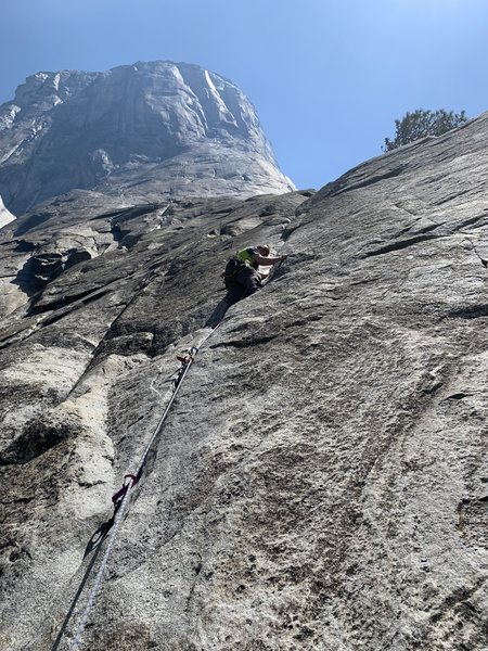 Bob T - Leading Trad - 'Fun climb, great view'