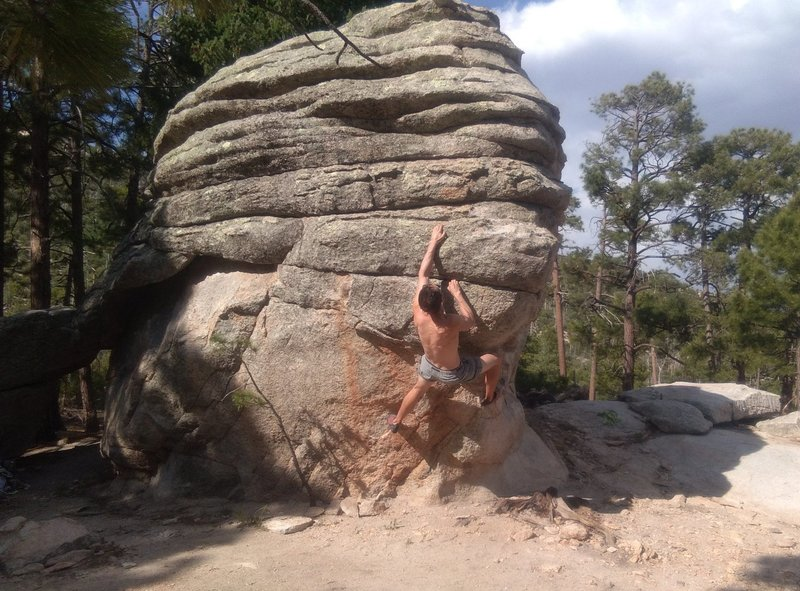 NE Junction Boulder - Wilderness Prow