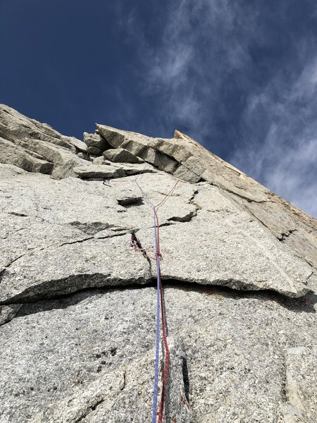 Pitch 5 overhang