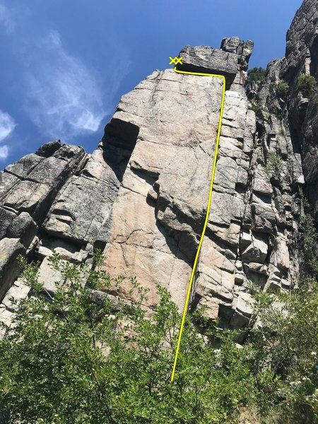 Doberman Digiter (5.10b)
