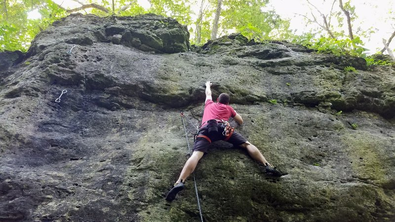 Dave reaching up and hoping for something good on Expectation Moderation