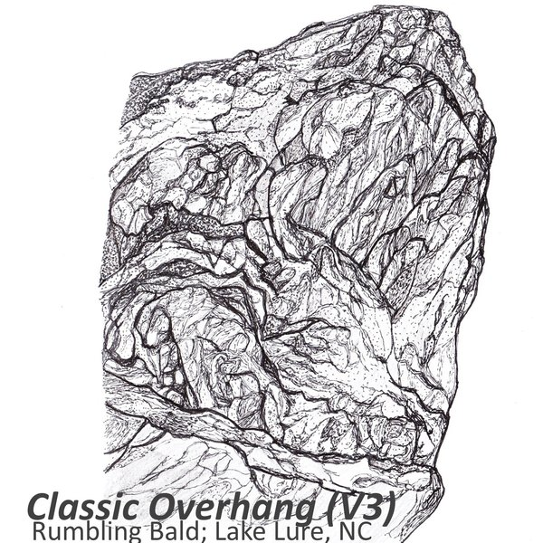 Classic Overhang by @drawingsfordirtbags