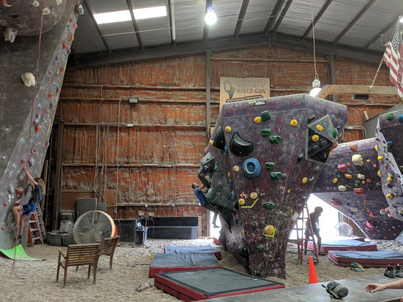 Bouldering Area from the other side
