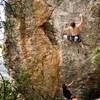 Matt Martinez wrestling opening boulder
