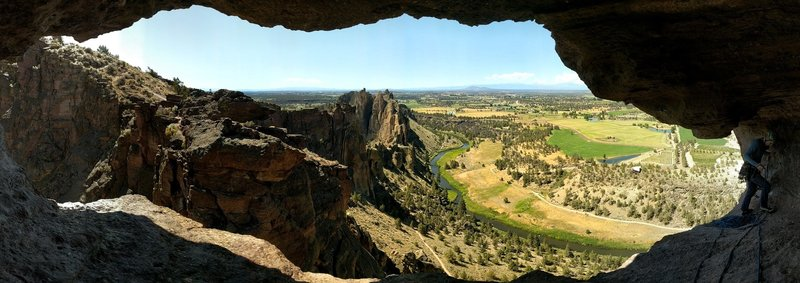 View from the Monkey's Mouth