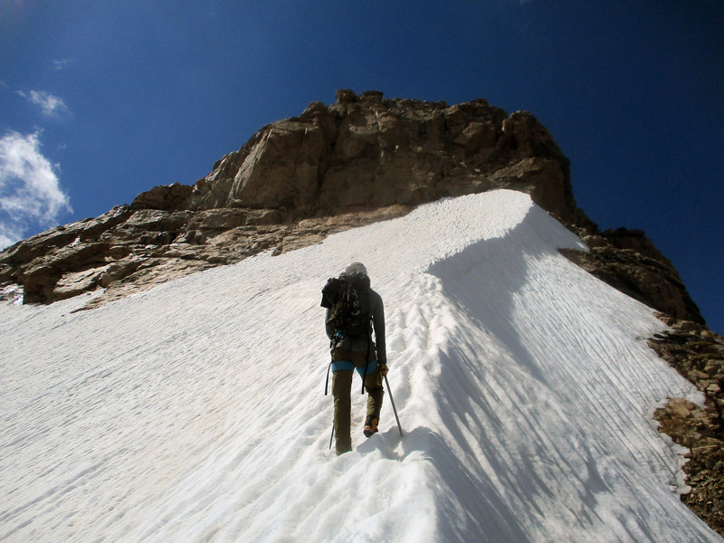 Final push to the summit!