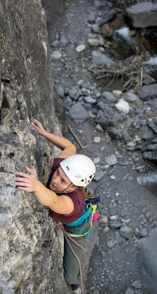 Rebecca Davidson on Diesel, Near the top