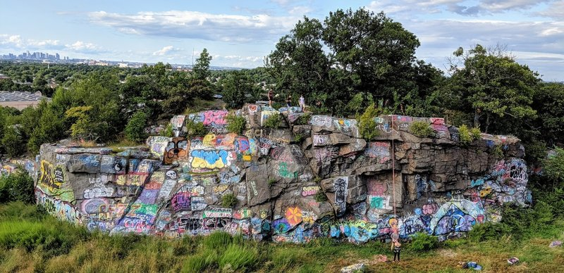 Quincy Quarries - M Wall.