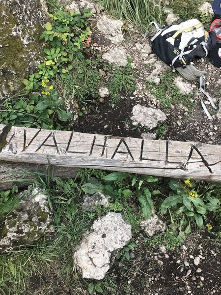 At the base of Valhalla