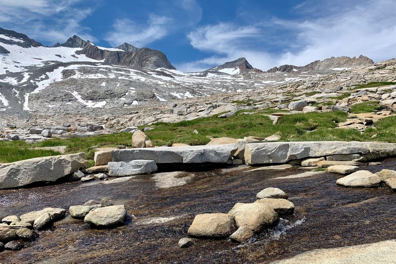Beautiful scenery from the approach slabs