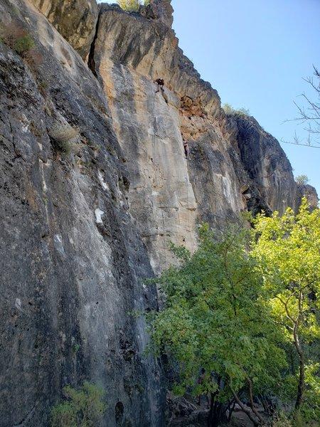 Climbing in Maracaibo