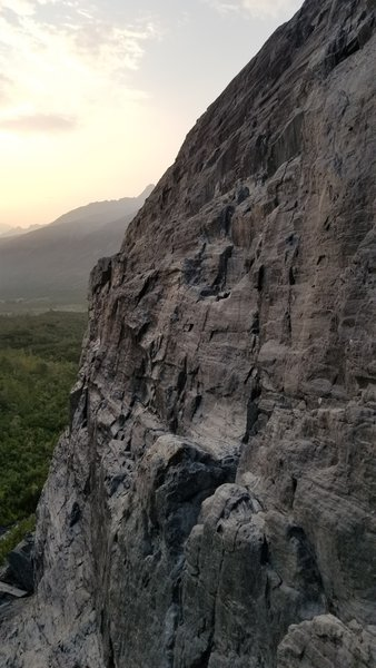 101 well looking clean and beautiful in the morning sunrise. 12 routes up and 300 hours in, phase one is complete thanks to many Helping Hands.