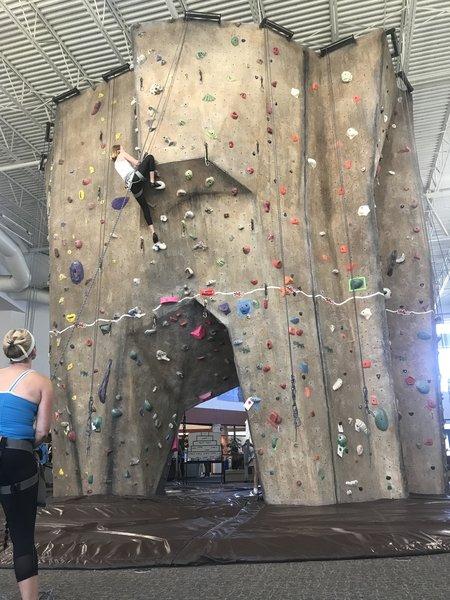 SJC Climbing Wall (alt view)