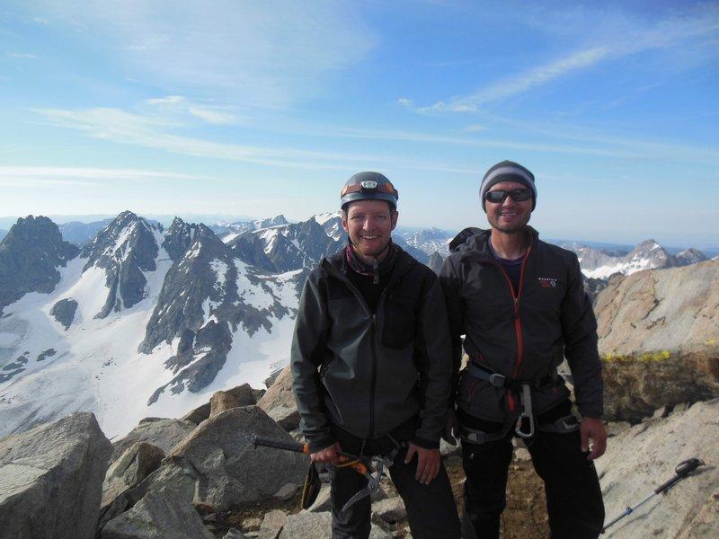 Me and the little bro on summit of Gannett 2018