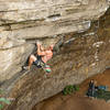 Jake Noblett climbing Dick Monster (28/7c ) at Cheesedale - Australia