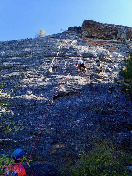 "climbers on ""Three"""