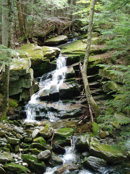 #4  Stairs Falls   On the Hawker Ridge Trail, off Rt2 west of Gorham, NH