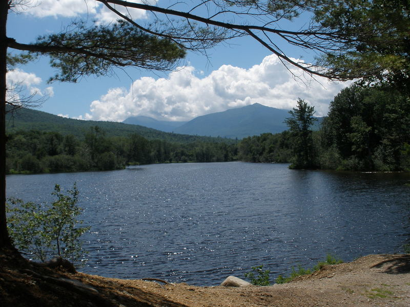 Mt Madison above the Androskogan river on Hogan Road (off of FRt 2 East of Gorham, NH)