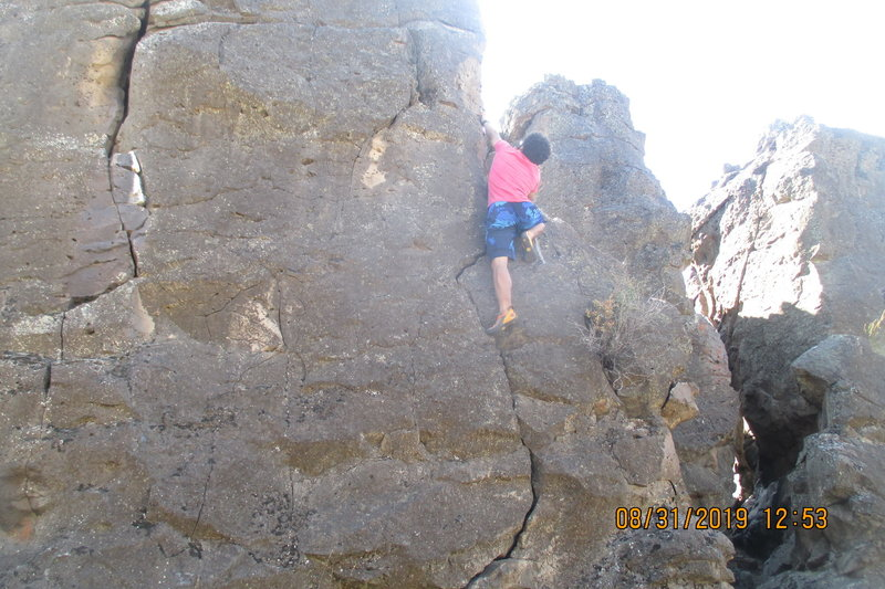 Getting to the ledge