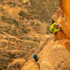 """In the midst of """"The Transition"""" on pitch 9. Photo: Dan Krauss"""