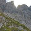 VF Laserz Klettersteig goes up this west wall of the Kleine Laserzwand