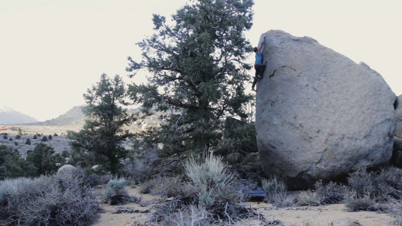 Jake Love topping out Soldier of Fortune (v5).