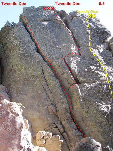 not my photo, but it's the most of this route that's been photographed so far.
