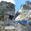 North Ridge of Spearhead with some variations.