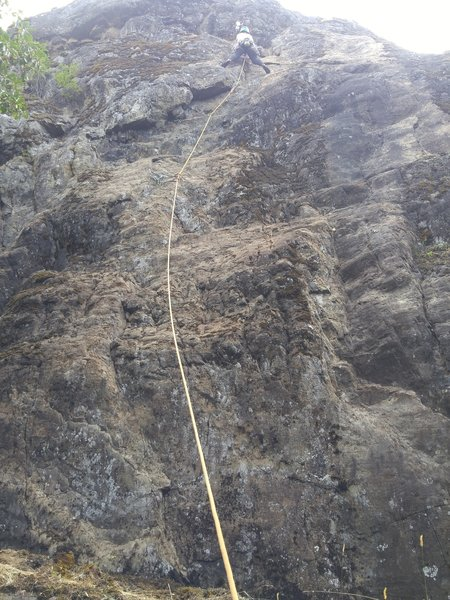 July 15, 2019: 1st ascent of His & Hers via Her route by Nikki Taylor.