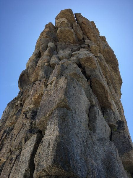 North Face of Hoffman's Thumb up close