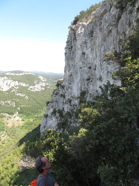 Right side of Versante Nord