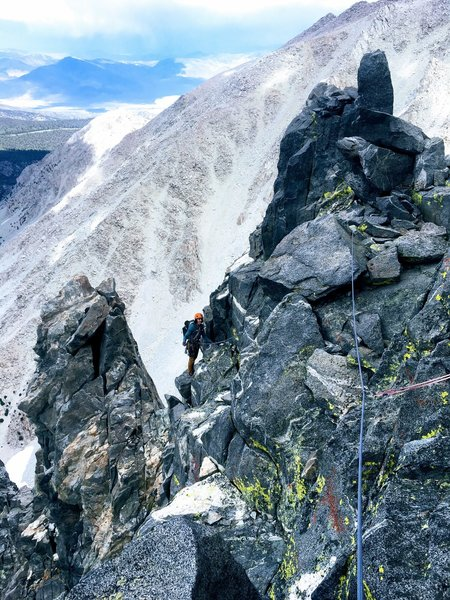 High on the route, typical terrain. Photo: Jeff Engels.
