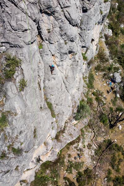 "Makenzie climbing ""Shouldn't Be Too Bad"""