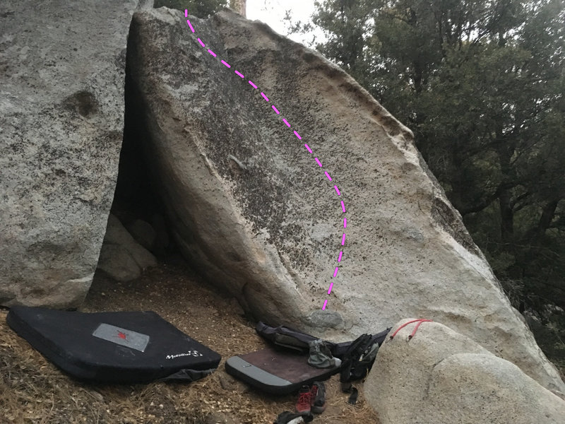 Trailside Boulders, The Scoop