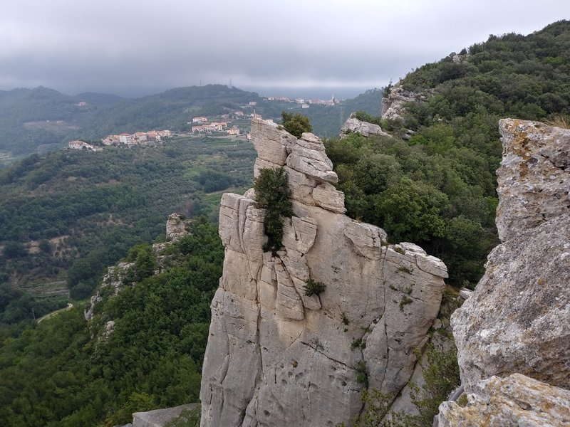 View from Luc onto La Torre.