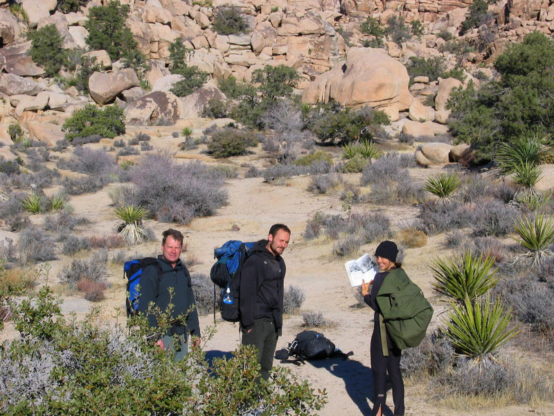 Yet another skeptical Bighorn Mating Grotto search team