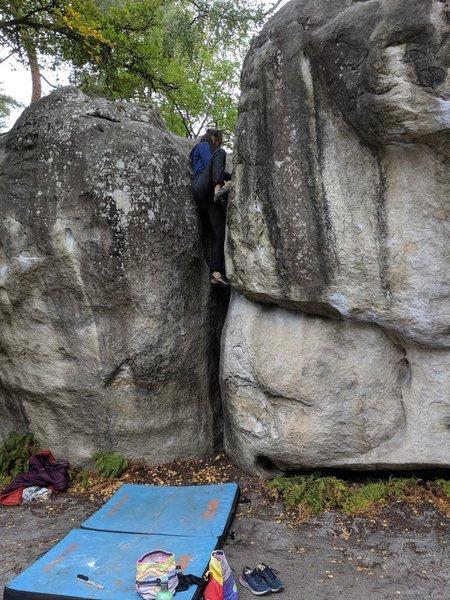Ascending Tuyau Morin